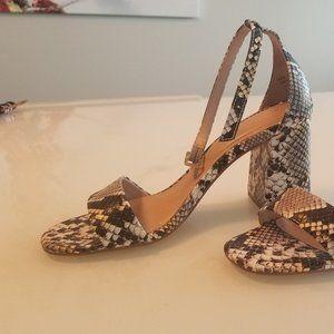 ALDO - Snake pattern sandals